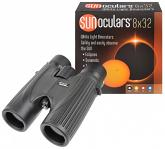 Lunt 8x32 White-Light SUNoculars (Black)