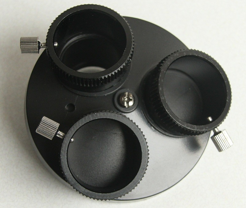 365Astronomy Multi Eyepiece Holder for 3 Eyepieces