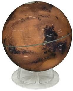 12-inch Mars Globe