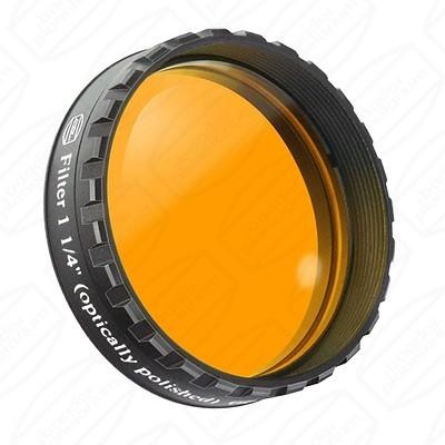 "Orange 1 1/4"" Eyepiece filter 570nm Longpass"