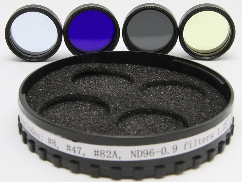 365Astronomy No 552 Lunar & Planetary Filter Set - 1.25-inch