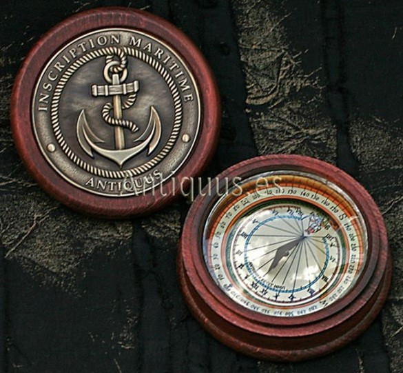 Magnetic Solar Compass - Sundial Compass