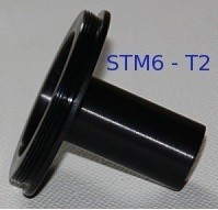 BTC Microscope Photo Adapter from STM6 to T2-thread