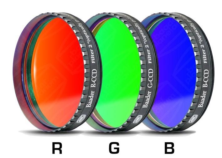 "Baader RGB-CCD-Filter-Set 2"""