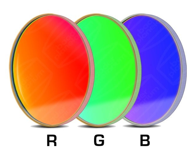 Baader RGB-CCD-Filter-Set 50.8mm Round