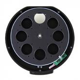 "XS External Filter Wheel for Moravian Instruments G2 cameras with 8 positions for 31mm unmounted & 1.25"" mounted filters"