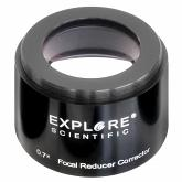 "Explore Scientific 3"" 0.7x Reducer  Corrector"