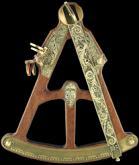 Hemisferium Medieval Sextant - Octant