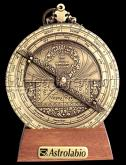 Hemisferium Planispheric Astrolabe by L.H.V. with 10cm diameter,  for 50 deg Latitude