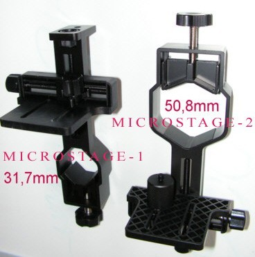 "MicroStage-1 Universal DigiScoping Camera Adapter 1.25"", 28mm-45mm"