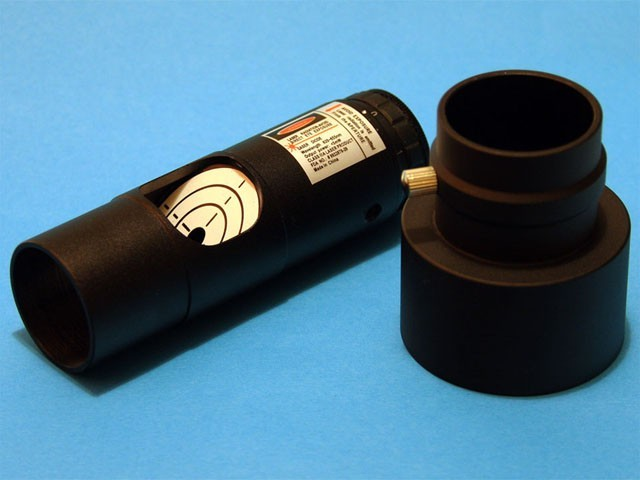 "Laser Collimator for 1.25"" with 2"" Adapter"