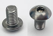 M5x8mm Socket Button Srew A4 Stainless Steel - TWO PIECES