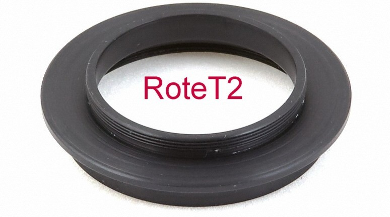 Lacerta Rotation System - Rotation Adapter with T-thread and 2-inch Filter Thread