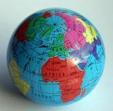 The SPHERE Political Paperweight Globe