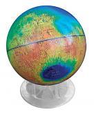 12-inch Topographic Mars Globe