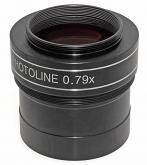 "TS-Optics PHOTOLINE 2"" 0.79X  4-element Reducer and Field Flattener / Corrector for Astrophotography"
