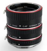 Aputure Macro Extension Tube Set TTL Autofocus for Canon EOS EF / EF-S Lenses