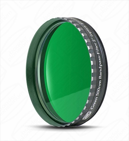 "Baader 2"" Green Eyepiece filter 500nm Bandpass"