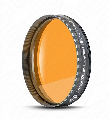 "Baader 2"" Orange Eyepiece filter 570nm Longpass"