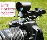 Blitz Hotshoe dSLR Camera Adapter for Red Dot Finder