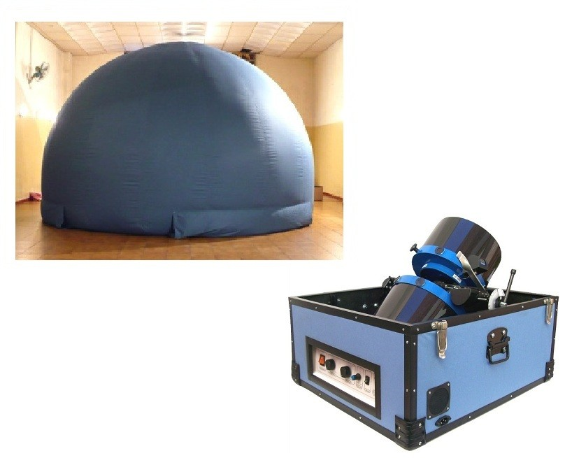 Canopus Portable Planetarium System - Star Projector with 5m Dome