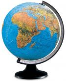 "12"" The Copenhagen Blue Desktop Globe"