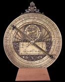 Hemisferium Large Planispheric Astrolabe by L.H.V.  20cm diameter  for 40.4 deg Latitude SALE