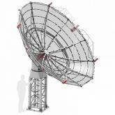 SPIDER 500A 5m Professional Radio Telescope with 1.42GHz Receiver on Weatherproof Alt-Az Mount
