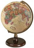 "9"" The Quincy Antique Style Desktop Globe"