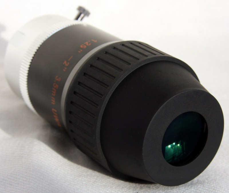 3.5mm UWA Ultra Wide Angle Eyepiece 70-degree 1.25-inch & 2-inch