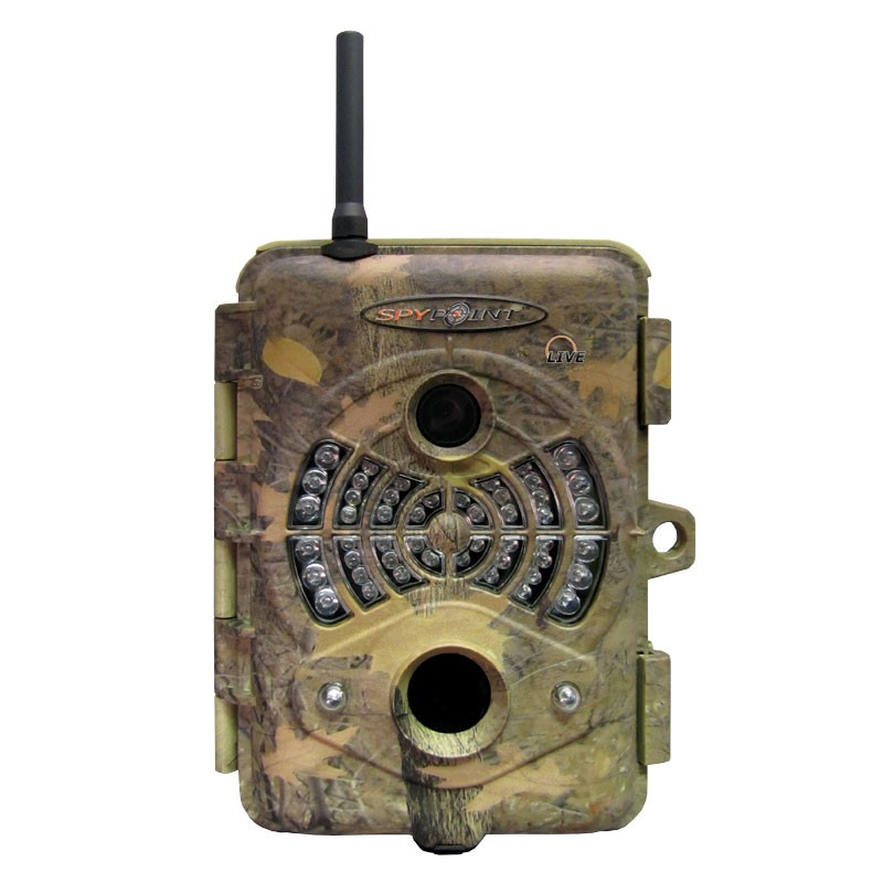 LIVE Camo 5MP Trail / Surveillance Camera with 48 IR LED and GSM/GPRS Transmission