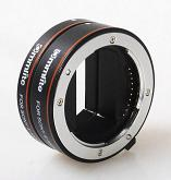 Commlite AF Macro Extension Tube Set Autofocus for SONY Nex E-Mount Camera Lenses - Mark II for CPS-C & FULL FRAME SONY E-MOUNT