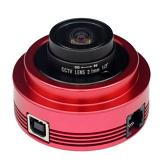 "ZWO ASI120MC Colour 1/3"" CMOS USB2.0 Camera with Autoguider Port"