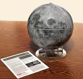 12-inch NASA Photographic Moon Globe - GOOD CONDITION
