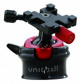 Uniqball UBH45XC ALL-IN-ONE System Leveled Pan & Tilt Head, Gimbal Head and Ball Head with a Leveling Base